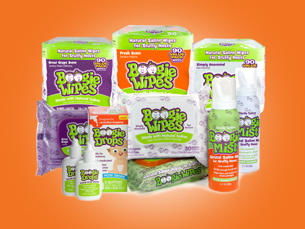 <strong>Boogie Wipes®</strong> Brand