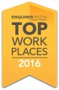 Enquirer Media top workplaces 2016